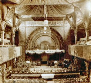 Interior of the Inter State Grain Palace